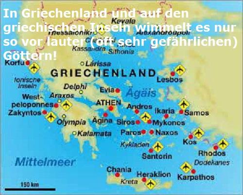 Die griechischen Götter in Griechenland / auf griechischen Inseln besuchen Griech10