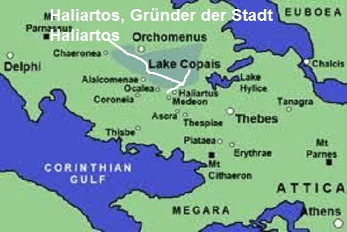 Haliartos (Mythologie): Gründer der Stadt Haliartos Haliar10