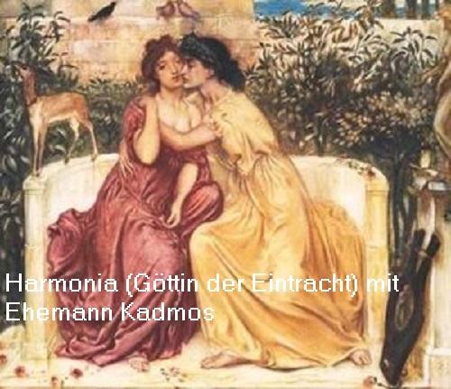 Harmonia: Göttin der Eintracht (Harmonie) in der griechischen Mythologie Harmon10