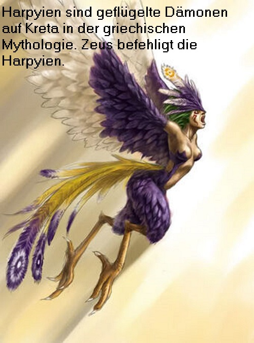 Harpyien: Dämonen auf Kreta Harpyi14