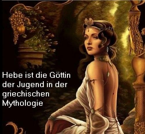 Hebe (Mythologie): Göttin der Jugend Hebe10