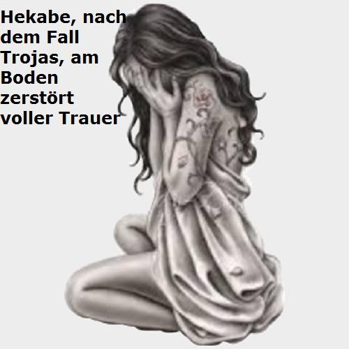 Hekabe (Mythologie): Letzte Königin vom Troja Hekabe10