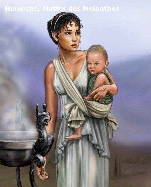 Henioche (Mythologie): Mutter des Melanthos Henioc10