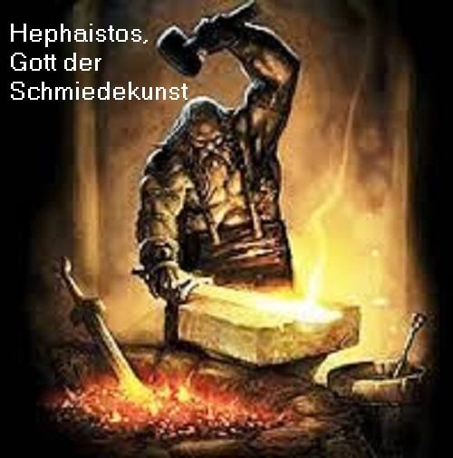 Hephaistos: Gott der Schmiedekunst Hephai10