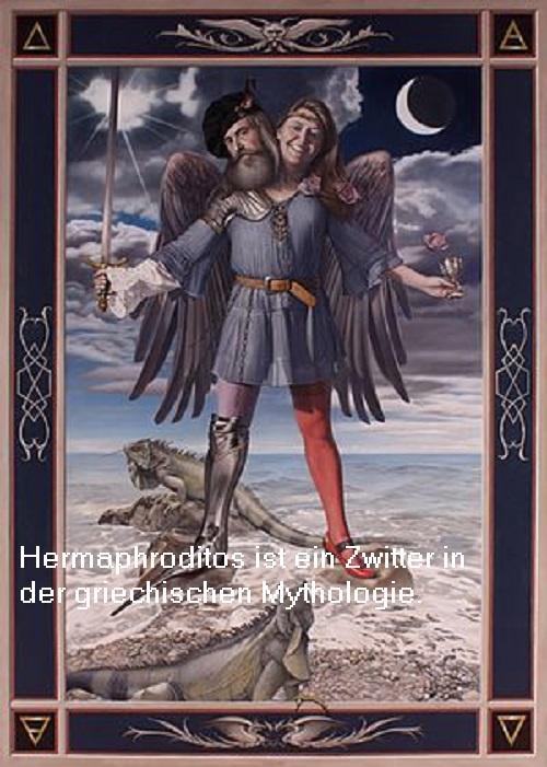 Hermaphroditos, in der deutschen Umgangssprache Hermaphrodit bezeichnet Hermap10