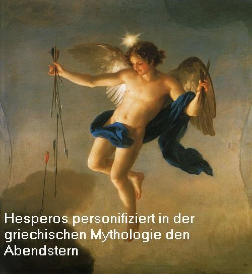 Hesperos (Mythologie): Titan vom Abendstern (identisch mit dem Morgenstern?) Hesper11