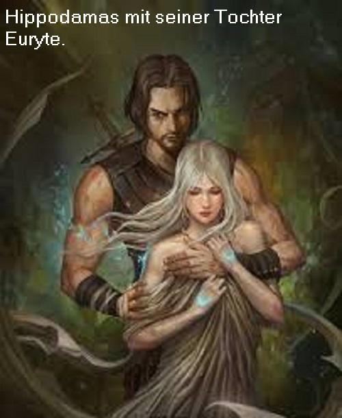 Hippodamas (Mythologie): Sohn des Acheloos und der Perimede Hippod10
