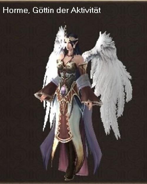 Horme (Mythologie): Göttin der Aktivität Horme10