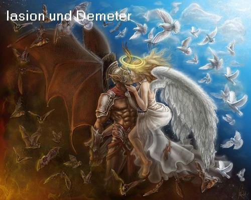 Iasion (Mythologie): Sohn des Zeus, Vater des Plutos Iasion10