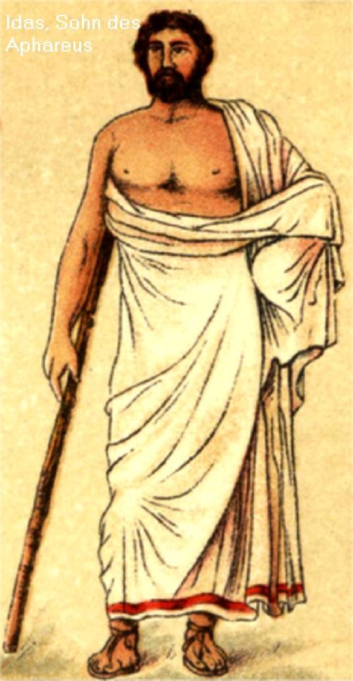Idas (Mythologie): Sohn des Aphareus Idas10