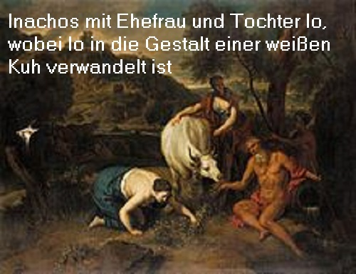 Flussgott Inachos (Mythologie): Inachos gilt als erster König der Stadt Argos Inacho10