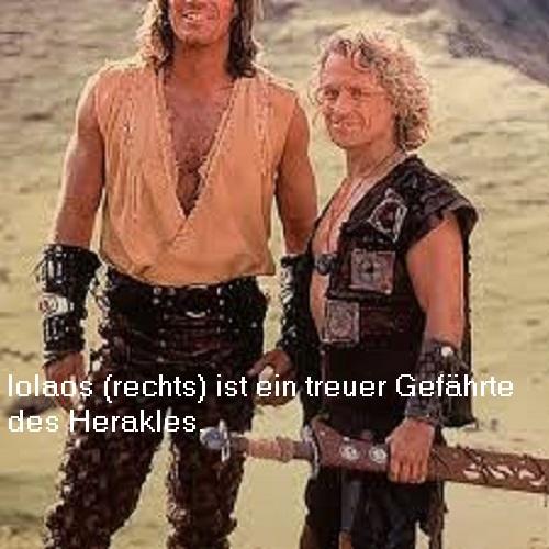 Iolaos (Mythologie): Neffe des Herakles, ausgezeichneter Wagenlenker Iolaos10