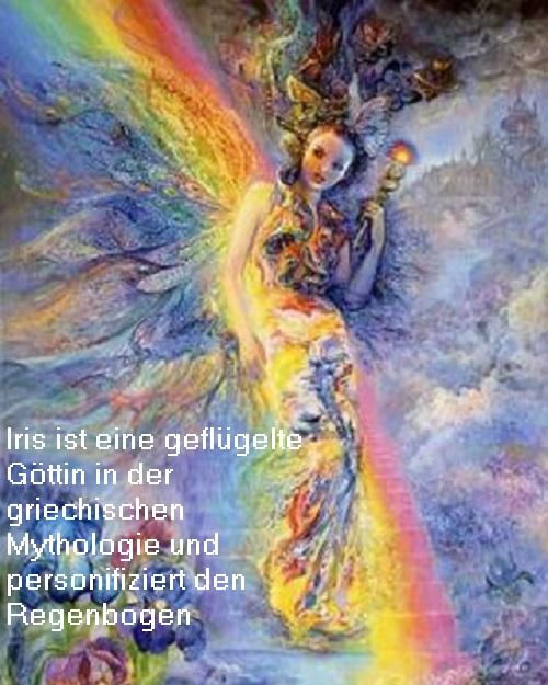 Iris, Göttin vom Regenbogen Iris10
