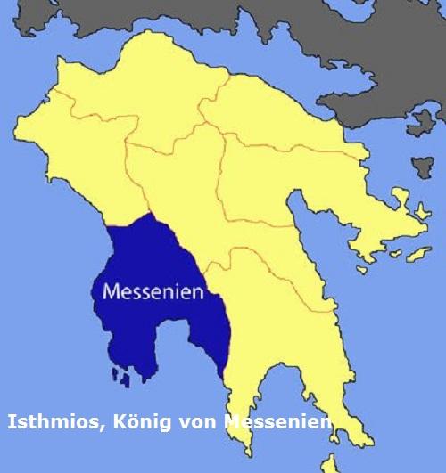 Isthmios (Mythologie): König von Messenien Isthmi10