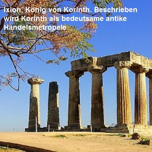 Ixion (Mythologie): König von Korinth Ixion11
