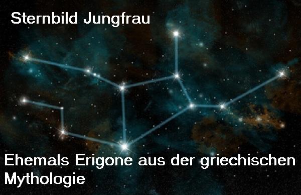 Erigone (Mythologie): Tochter des Ikarios, heute als Sternbild Jungfrau am Firmament Jungfr10
