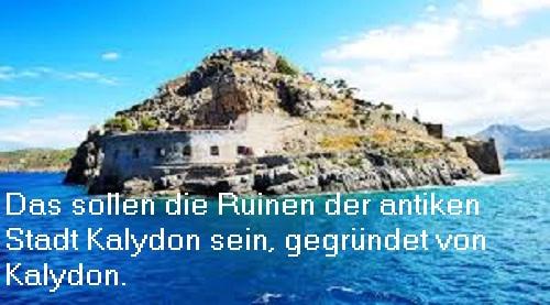 Kalydon (Mythologie): Gründete die Stadt Kalydon, Sohn des Aitolos Kalydo11