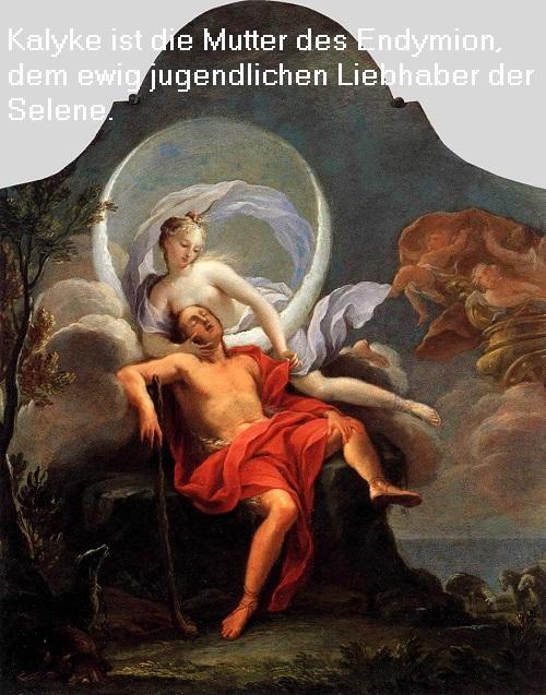 Kalyke (Mythologie): Tochter des Aiolos und der Enarete, Mutter des Endymion Kalyke10