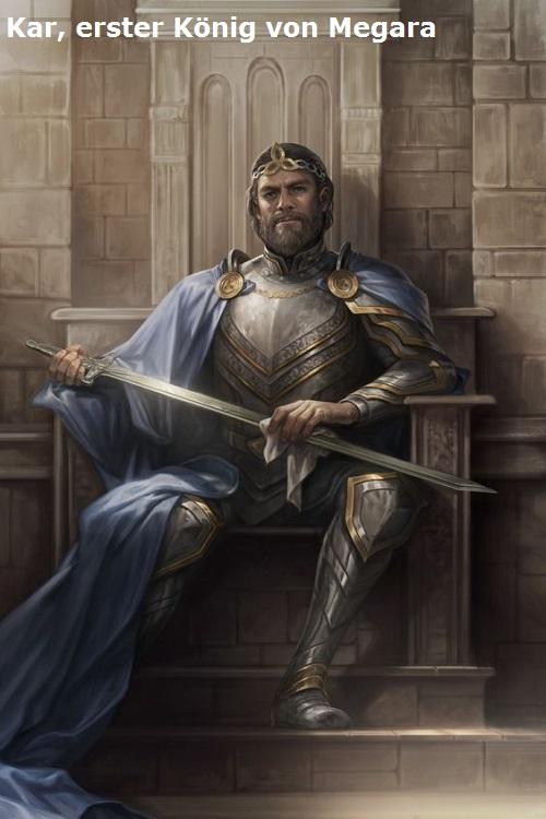 Kar (Mythologie): Erster König von Megara Kar10