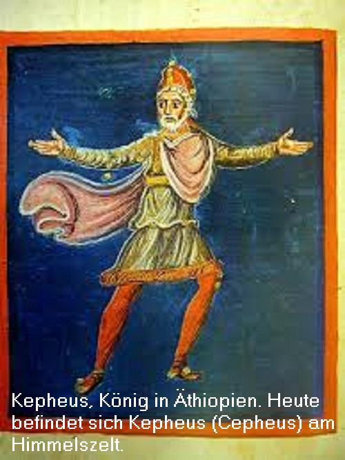Kepheus: Sohn des Belos, heute als Sternbild am Himmelszelt Kepheu10