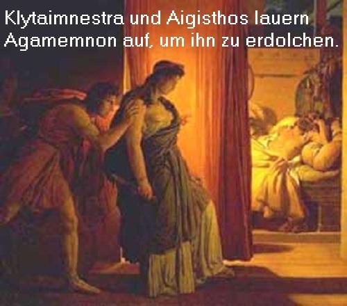 Klytaimnestra (Mythologie): Tochter der Königin Leda und des Tyndareos, Gemahlin des Agamemnon Klytai10