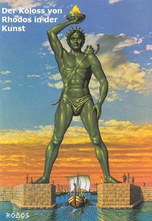 Koloss von Rhodos: Antikes Weltwunder Koloss11