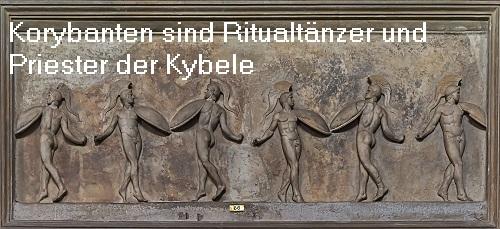 Korybanten (Mythologie): Ein Korybant wird als Ritualtänzer und Priester der Kybele beschrieben Koryba10