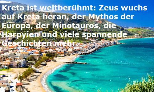 Kreta (Mythologie): Griechische Insel Kreta12