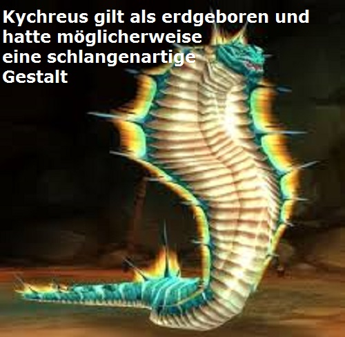 Kychreus (Mythologie): Schutzheros der Insel Salamis Kychre10