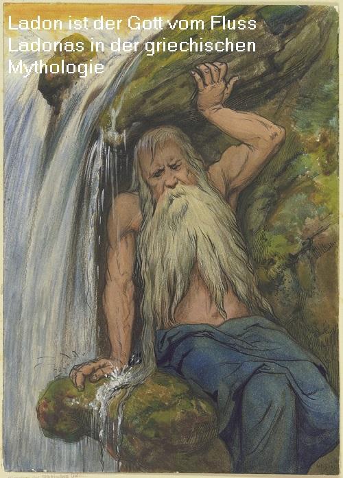 Flussgott Ladon (Mythologie): Der Fluss Ladonas ist heute ein Nebenfluss vom Alpheios / Alfios Lados10