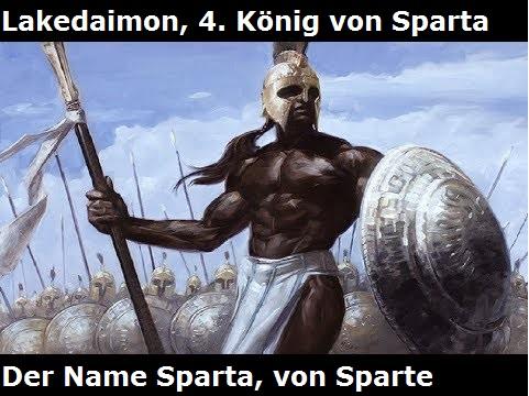 Lakedaimon: 4. König von Sparta (nach Sparte benannt) + Lakonien (Mythologie) Lakeda10