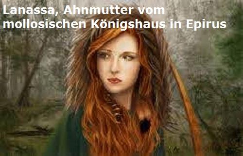 Lanassa (Mythologie): Ahnmutter vom molosischen Königshaus in Epirus Lanass10