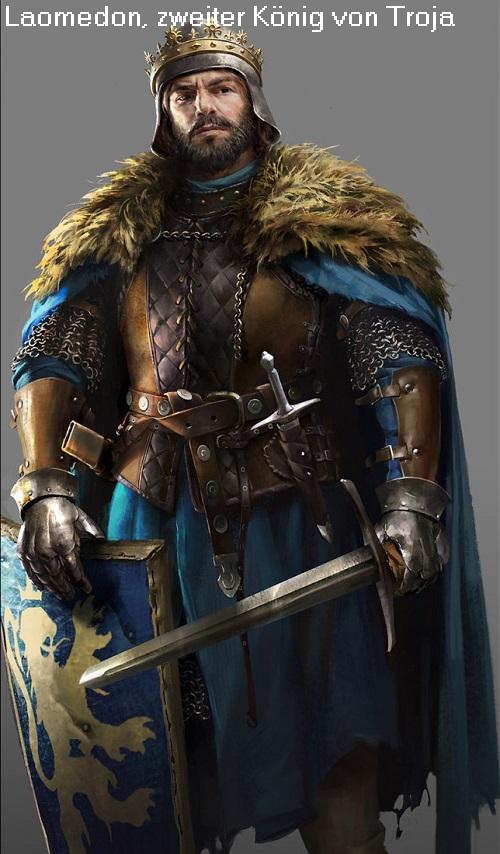 Laomedon (Mythologie): Zweiter König von Troja Laomed10