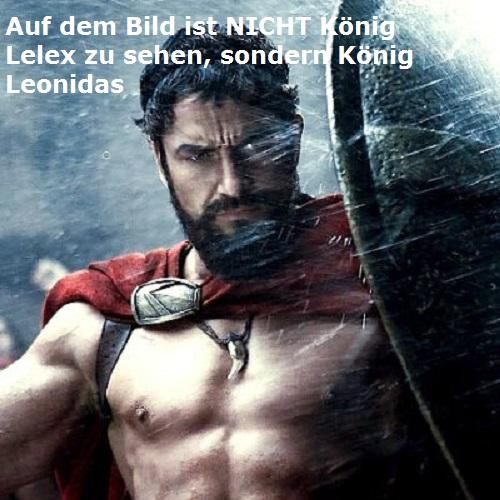 Lelex, erster König von Sparta (Mythologie) Lelex10