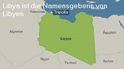 Libya (Mythologie): Namensgeberin von Libyen Libya10