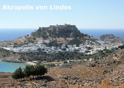 Lindos, Ialysos und Kameiros (Mythologie): Gründerväter der Insel Rhodos Lindos10