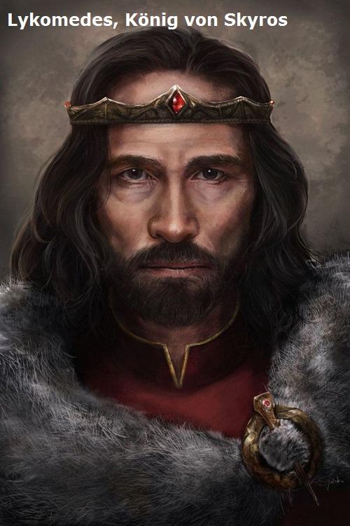 Lykomedes (Mythologie): König von Skyros Lykome10
