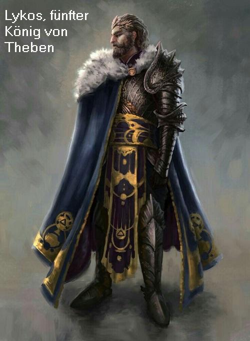 Lykos (Mythologie): 5. König von Theben (Kadmeia) Lykos10