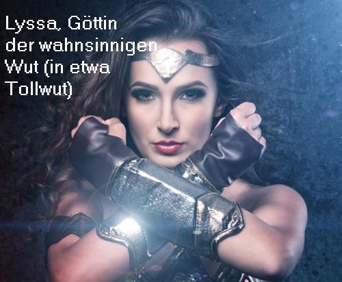 Lyssa (Mythologie): Göttin der wahnsinnigen Wut, Raserei Lyssa10