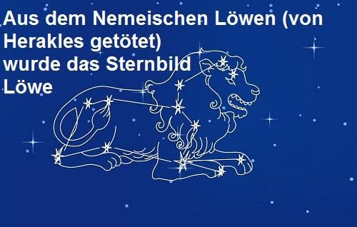 Nemeischer Löwe: Unverwundbares Ungeheuer, Herakles musste dieser Bestie das Fell abziehen Lzwe10