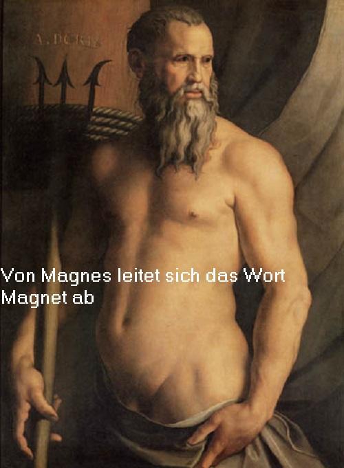 Magnes (Mythologie): Das Wort Magnet leitet sich von Magnes ab Magnes10