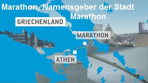Marathon (Mythologie): Namensgeber der Stadt Marathon Marath10