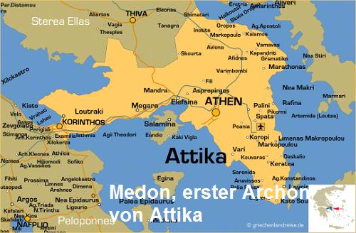 Medon (Mythologie): Erster Archon von Attika Medon10