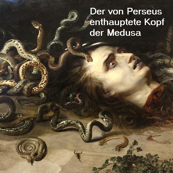 Medusa (Mythologie): Tochter des Phorkys und der Keto, Gorgone mit einem tödlichen Blick Medusa10