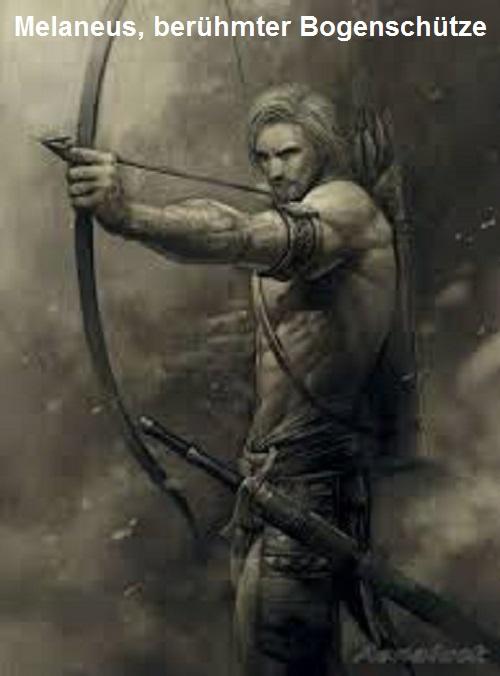 Melaneus (Mythologie): Berühmter Bogenschütze Melane10