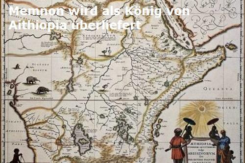 Memnon (Mythologie): Sohn des Tithonos und der Eos Memnon10
