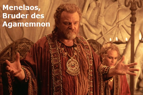 Menelaos (Mythologie): Bruder des Agamemnon, König von Sparta Menela10