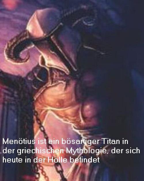 Menötius (Mythologie): Titan (Gott) vom Zorn Menzti10