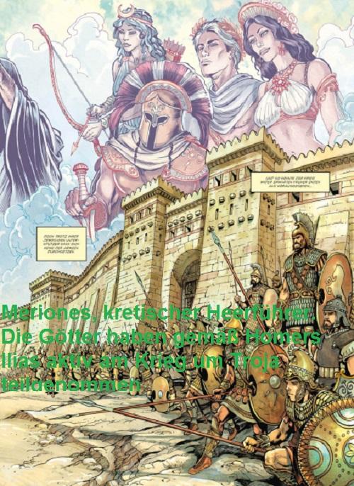 Meriones (Mythologie): Kretischer Heerführer Merion10