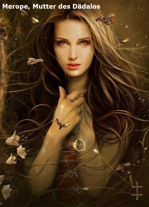 Merope (Mythologie): Mutter des Dädalos, Tochter des Erechtheus Merope12